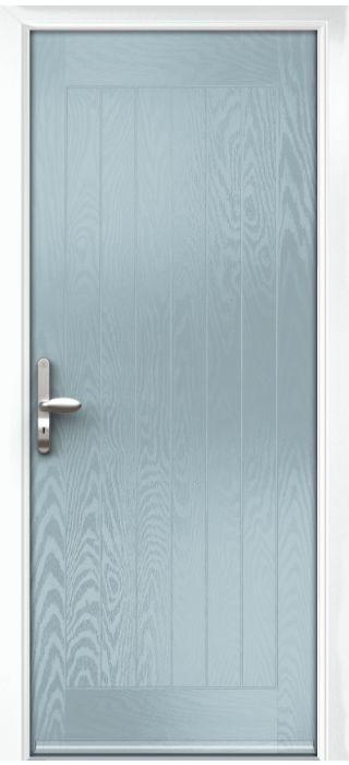 Composite Door - Aspen - Rural Collection - Wedgewood