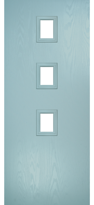 Composite Door - Maxwell - Contemporary Collection - Wedgewood
