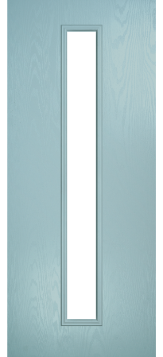 Composite Door - Davy - Contemporary Collection - Wedgewood