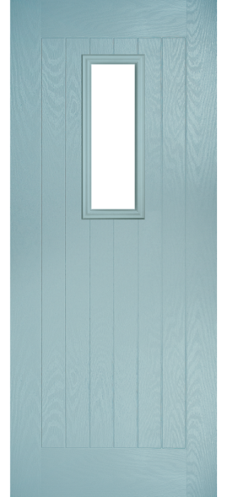 Composite Door - Maple - Rural Collection - Wedgewood