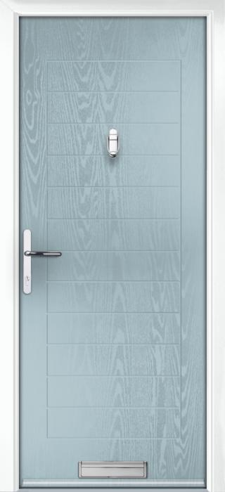 Composite Door - Talbot Solid - Classic Collection - Wedgewood