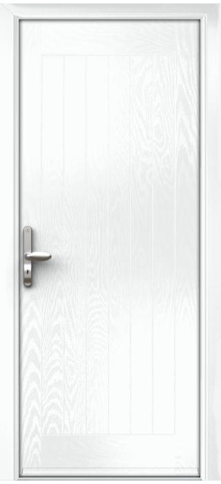 Composite Door - Aspen - Rural Collection - White