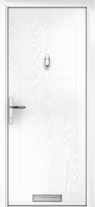 Composite Door - Talbot Solid - Classic Collection - White