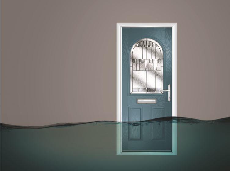 Flood Defence Composite Door