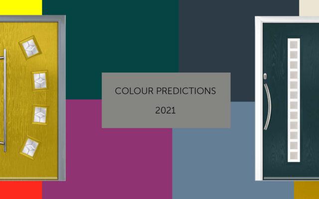 Composite Door 2021 Colour Predictions