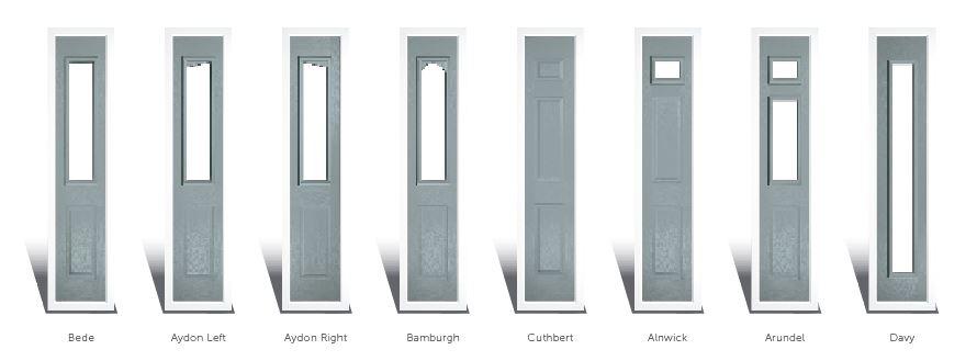 composite door Side Lights